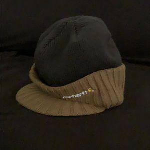 Carhartt beanie with visor